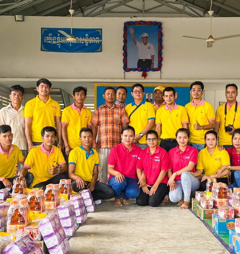 UniDry & YoYo Social Charity: A Hand in need for the victims of the Great Flood