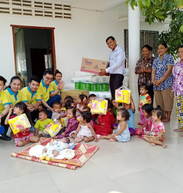 WINSUN's Charity to Rescue Cambodia Orphanage